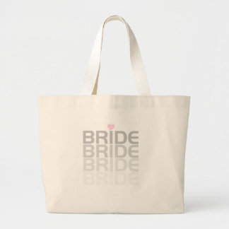 Bride Fade Tshirts and Gifts Large Tote Bag
