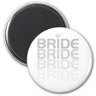 Bride Fade Tshirts and Gifts Fridge Magnet