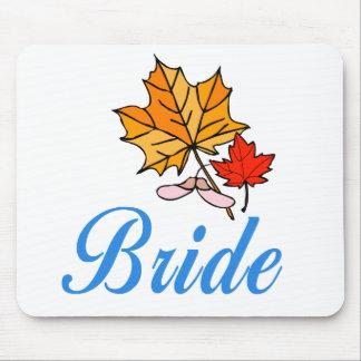 Bride - fall mouse mat