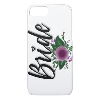 Bride (floral) iPhone 8/7 case