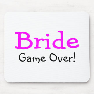 Bride Game Over Mouse Pads