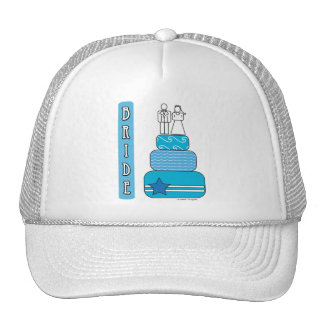 Bride Gifts and Favors Mesh Hats
