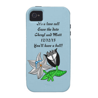 Bride Groom Iphone  Wedding Save The Date iPhone 4 Cases