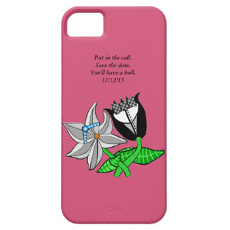 Bride Groom Iphone  Wedding Save The Date iPhone 5 Case
