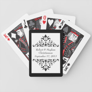 Bride & Groom Wedding Favor Playing Cards