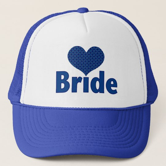 Bride (heart blue I) Cap