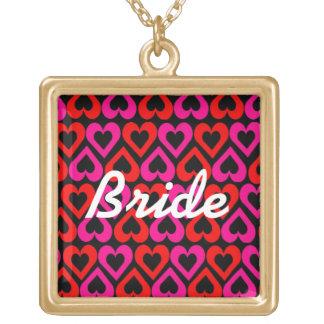 Bride Hearts Necklace
