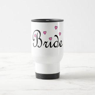 Bride Hearts Stainless Steel Travel Mug