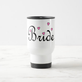 Bride Hearts Travel Mug