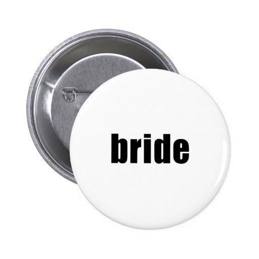 Bride in Black and White Pins