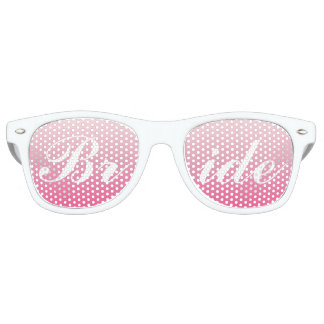 Bride in Script Sunglasses | Pink Shades
