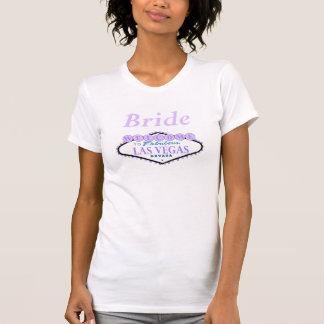 Bride Las Vegas Lilac Scoop Neck Shirt