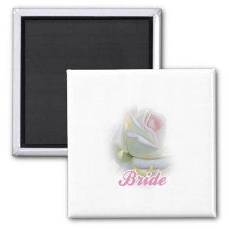 Bride Square Magnet