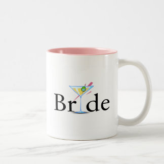 Bride (Martini Drink) Two-Tone Mug