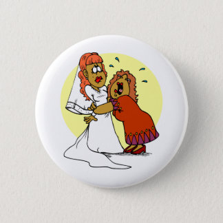 Bride Mother Wedding Day Ceremony 6 Cm Round Badge