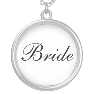 Bride Personalized Necklace