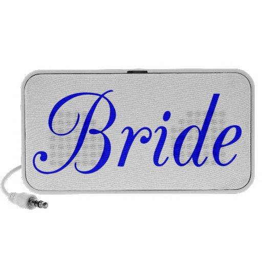 Bride Notebook Speakers