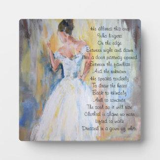 Bride of Christ inspirational poetry Plaque