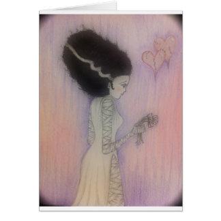 Bride of Frankenstein Card