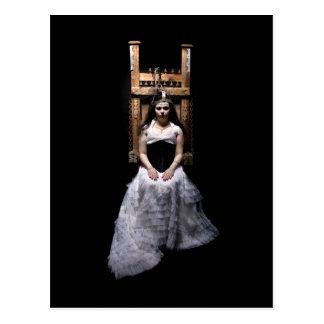 """""""Bride of Frankenstein"""" postcard by Cyril Helnwein"""