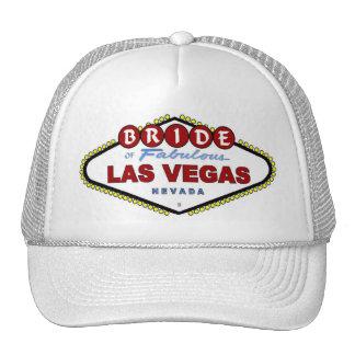 BRIDE Of Las Vegas Cap Mesh Hats