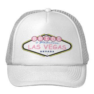 BRIDE Of Las Vegas Cap Trucker Hat