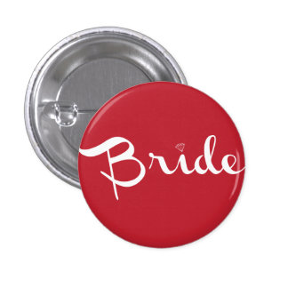 Bride Pin White On Red Pins