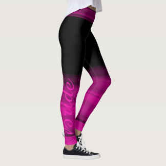 Bride pink shaded leggings