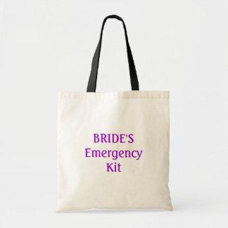 Bride s emergency kit bag