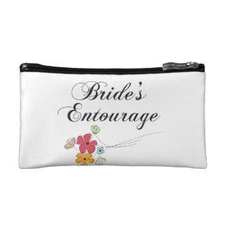 Bride s Entourage Cosmetics Bags