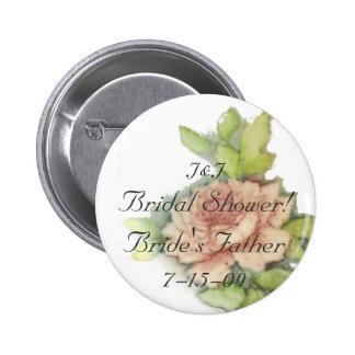 Bride s Father Button-Customize