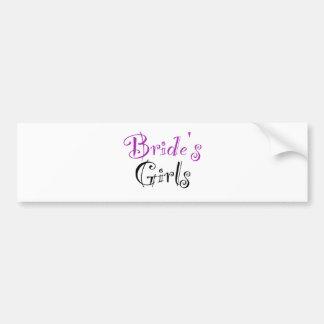 Bride s Girls Bumper Sticker