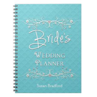 BRIDE S WEDDING PLANNER NOTEBOOK - SPIRAL NOTE BOOKS