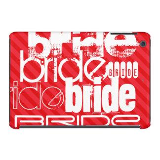 Bride; Scarlet Red Stripes iPad Mini Retina Cases