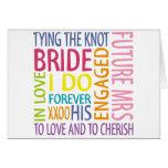 Bride Sentiments Wedding