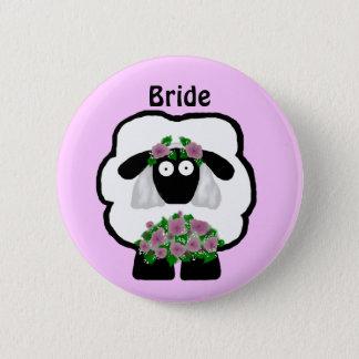 Bride Sheep Button