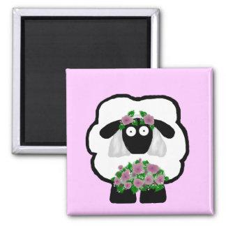 Bride Sheep Magnet