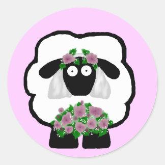 Bride Sheep Stickers