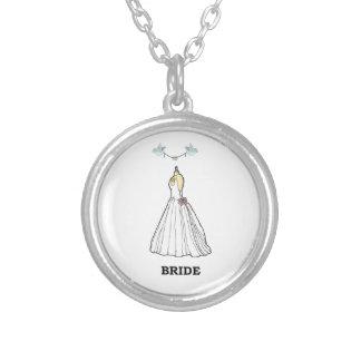 Bride Silver Locket