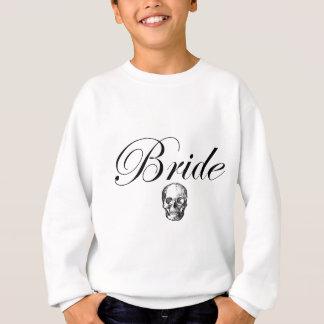 Bride Skull Rocker Goth Sweatshirt