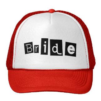 Bride (Sq Blk) Cap