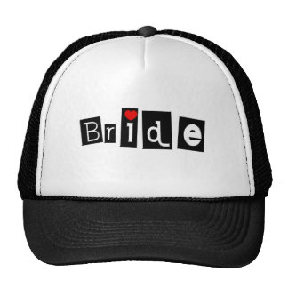 Bride (Sq) Trucker Hats
