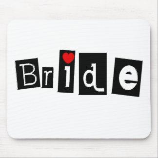 Bride (Sq) Mouse Pad