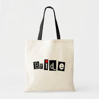 Bride (Sq) Budget Tote Bag