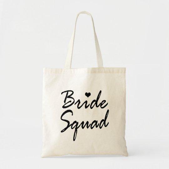 Bride Squad Bachelorette Party Tote Bag