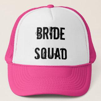 BRIDE SQUAD TRUCKER HAT PINK