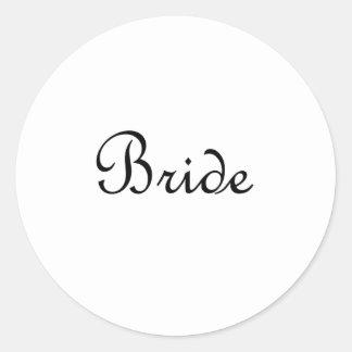 Bride Stickers