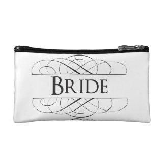 Bride Swirls Cosmetics Bags