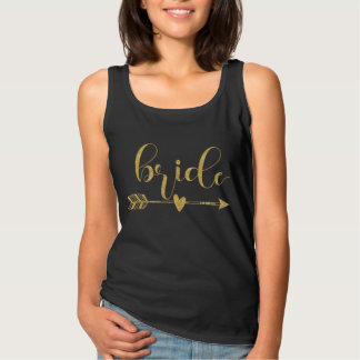 Bride|Team Bride Script Tank Top
