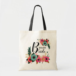 Bride Team. Bridesmaid Wedding Gifts Tote Bags